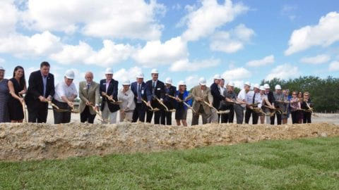 Lee Health Coconut Point groundbreaking May 2017