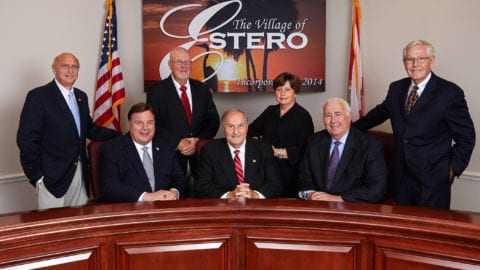 Village of Estero City Council 2017
