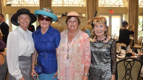 Peg Phillips, Nola Boomer, Katy Errington and Eileen Galvin, 2016