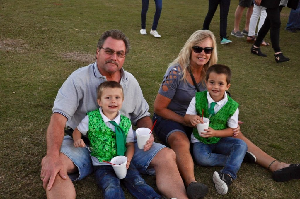Brian and Sharon McCone with Parker & Carson