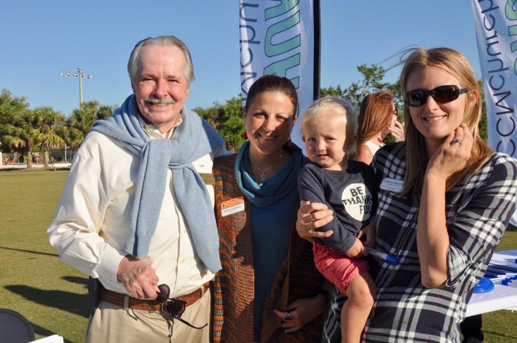 Charles Dauray, Brandy Minchew and Larissa Browne (with Sam)