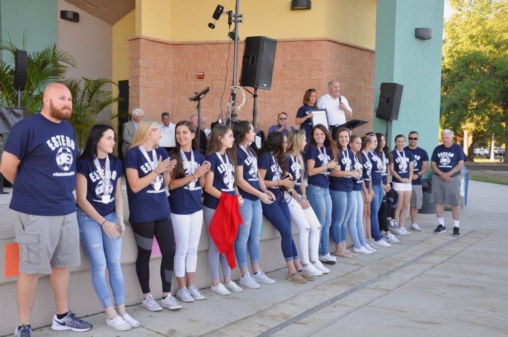Estero High School Girls Soccer Team