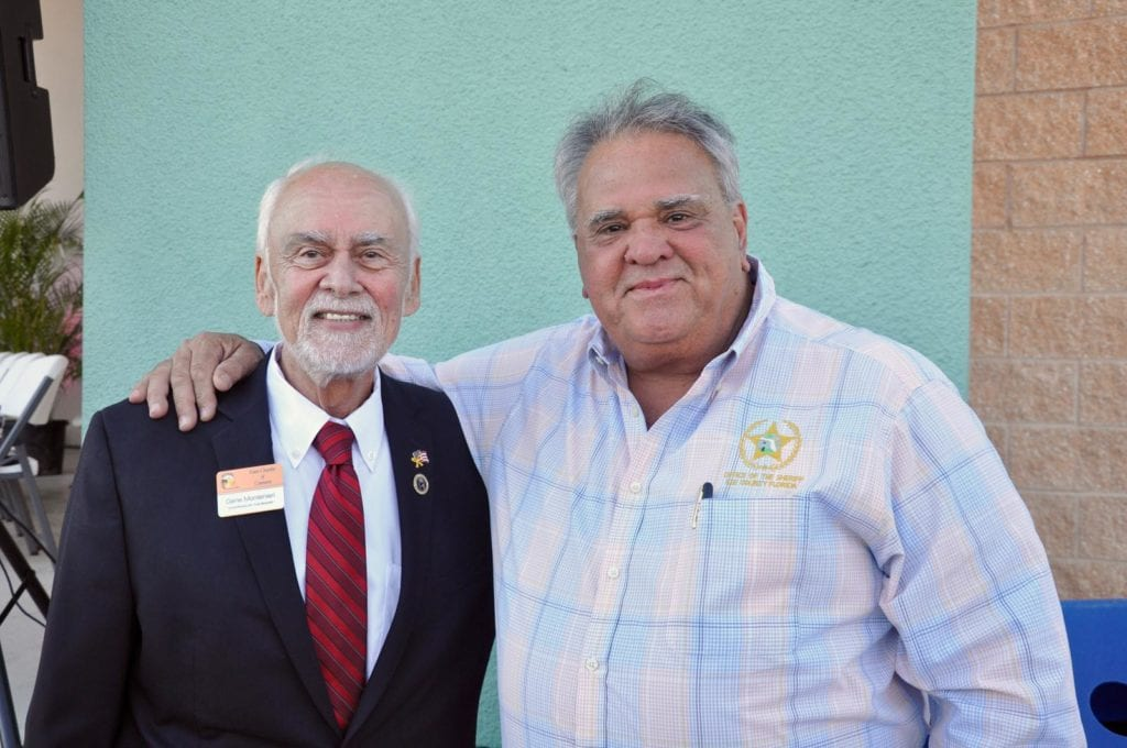 Gene Montenieri and Sheriff's Capt. Morgan Bowden
