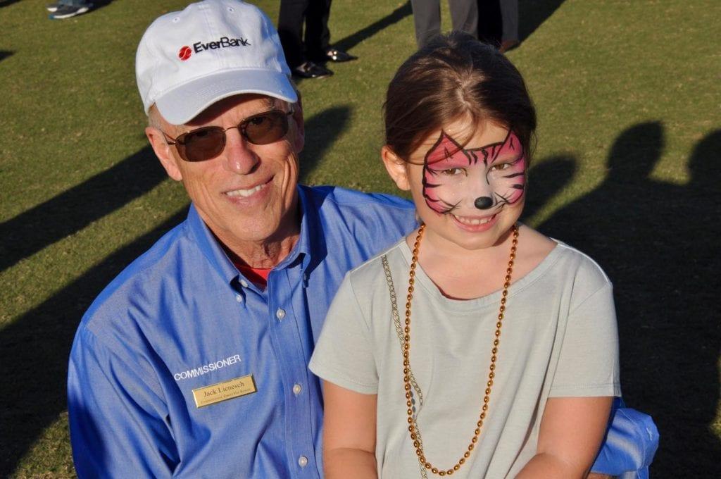 Jack Lienesch with granddaughter Emily