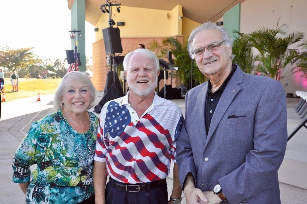 Jewel Faerber, Gary Israel and Joe Faerber