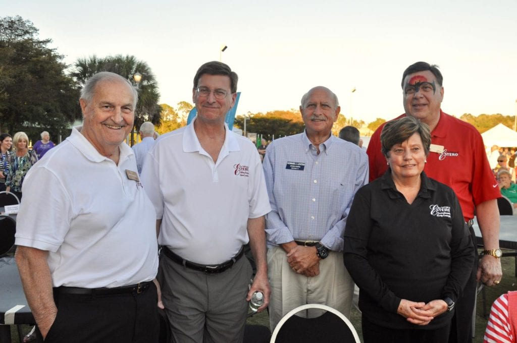 Jim Boesch, Steve Sarkozy, Howard Levitan, Katy Errington and Bill Ribble