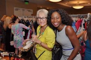 Colicia Reeves and Sylvia Dorisme at Love That Dress 2017