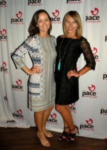 Stefanie Ink Edwards and Melissa Cofta at 'Passion Meets Fashion'