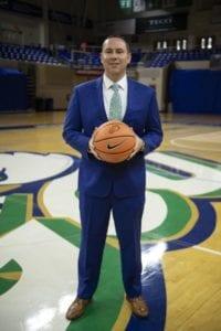 FGCU Men's Basketball Coach Michael Fly