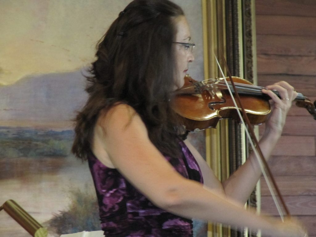 Sania Whitaker performs at Koreshan Art Hall