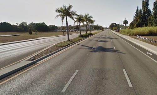 US 41 existing landscape