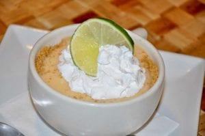 keylime pie in a mug