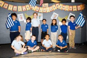 Inaugural class of Athenian Charter School Estero