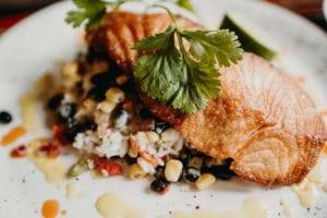 Pan Roasted Salmon