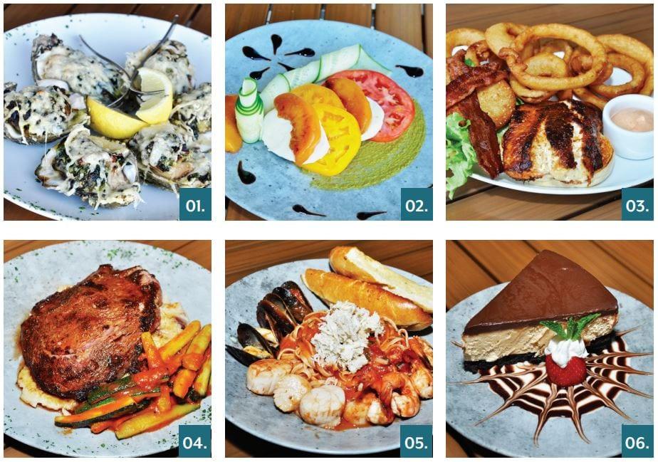 Fish-Tale Marina's Favorite Dishes