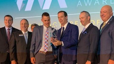 Bill Daubmann of My Shower Door receives an IAA Award