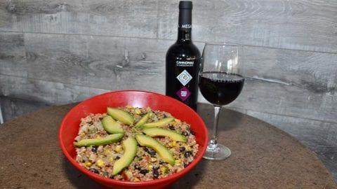 Naples Flatbread Southwest Quinoa Bowl
