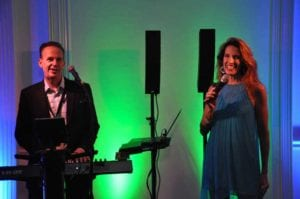 Founders Club members Billy Dean and Dawn Birch perform at the inaugural celebration_photo by David Michael
