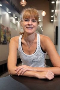 Nancy Gerald, co-owner of Our Yoga Place