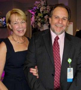 Deborah and Paul Simeone at the KMM Secret Garden Gala