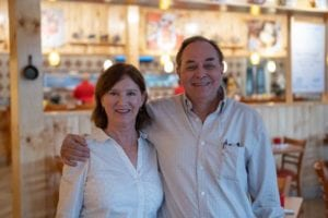 Skillets owners Ross and Noreen Edlund