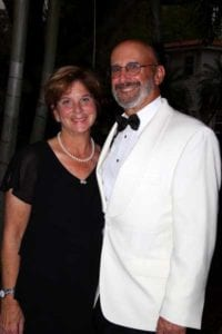 Susan Goldy and Scott Spiezle at the first Secret Garden Gala in 2017