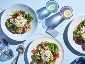 Tommy Bahama Lump blue crab and avocado salad