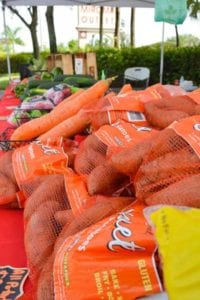 Fresh produce at Miromar Outlets Farmers Market