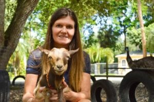 Karine Belisle started making goat cheese during COVID