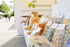 Medeaterraneo booth at Miromar Outlets Farmers Market