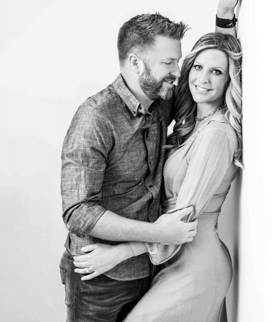 Ben Allen and his wife Laura Youmans
