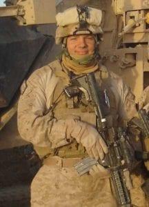 Jerod Murphy in Afghanistan