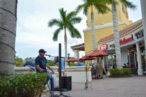 Live entertainment at Miromar Outlets