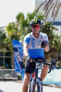 Ted Rudich at the JDRF Ride to Cure 2019 on Amelia Island