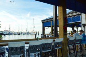 Harbor view at Snug Harbor Waterfront Restaurant