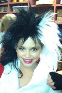 Casey Bishop in third grade