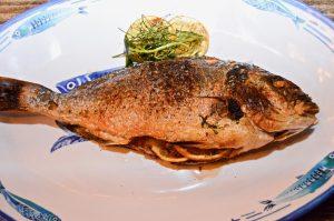 Dorado whole fish