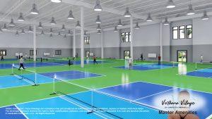 Indoor Pickleball planned for Verdana Village by Cameratta