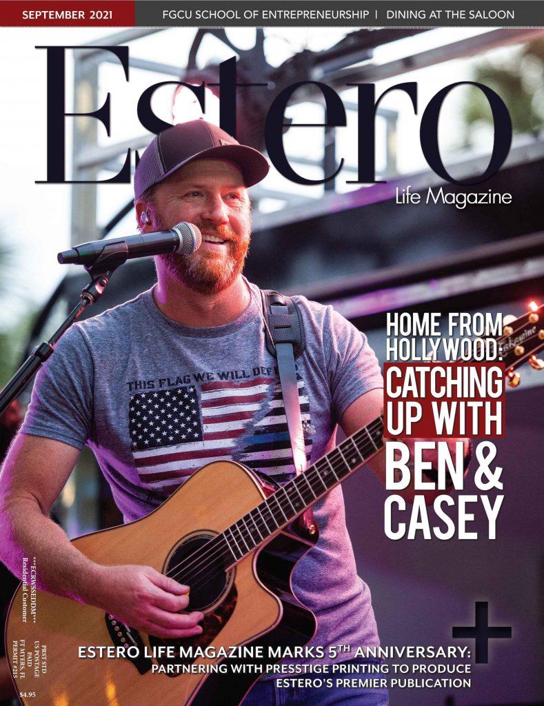 Estero Life Magazine September 2021 Cover