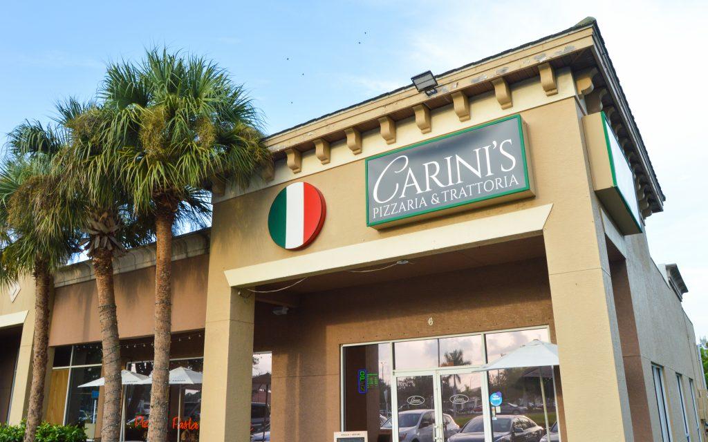 Carini's Pizzeria & Trattoria Exterior